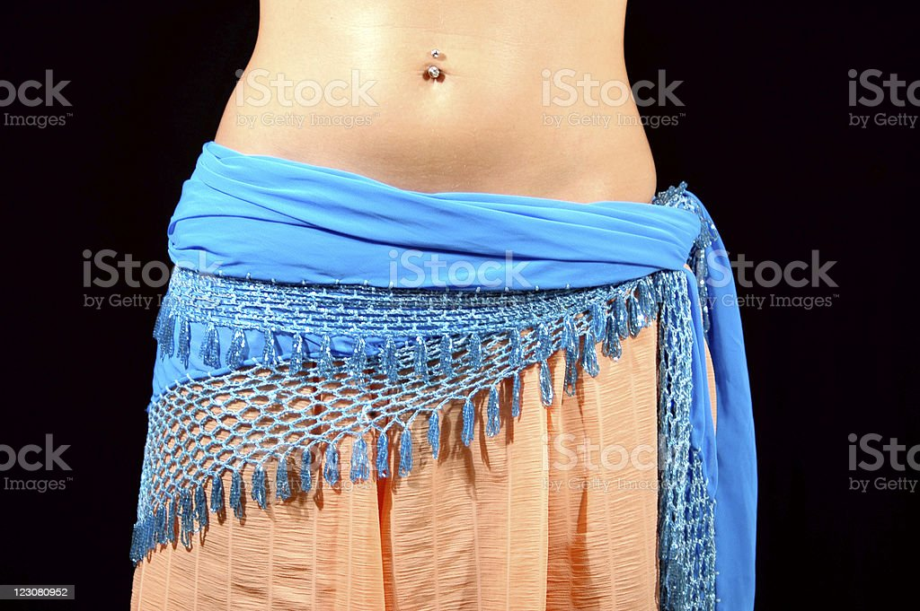Clothes for bellydances royalty-free stock photo