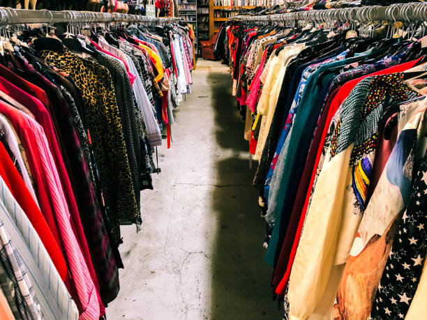 Clothes in second hand