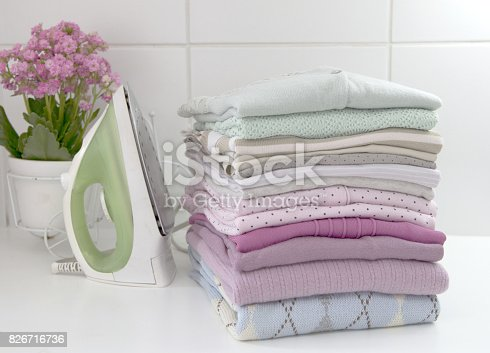 901620964 istock photo Clothes laundry 826716736