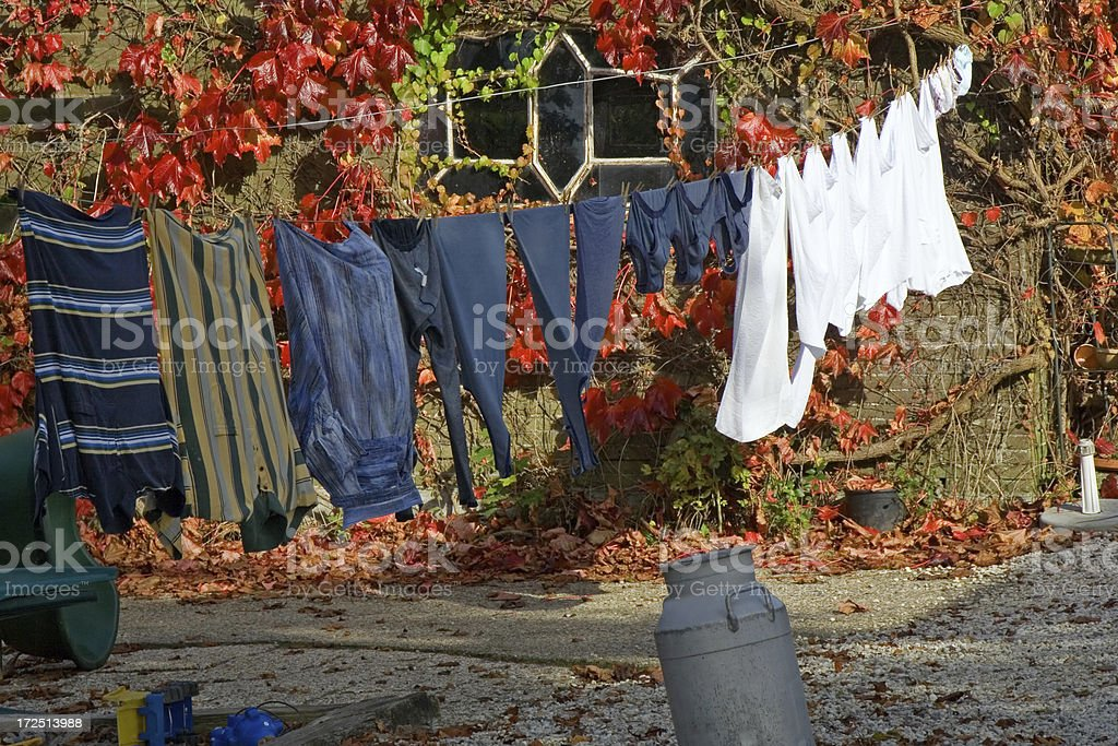 Clothes line # 3 royalty-free stock photo