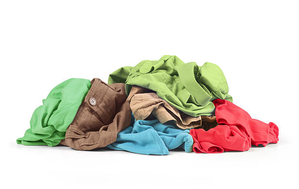 pile of shirts