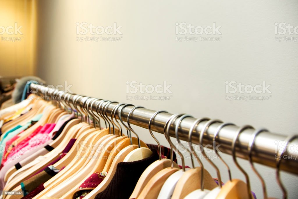 Clothes royalty-free stock photo