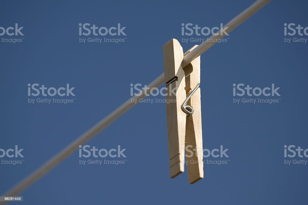 Clothes Pin royalty-free stock photo