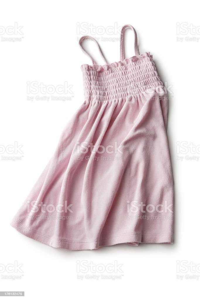 Clothes: Pink Dress royalty-free stock photo