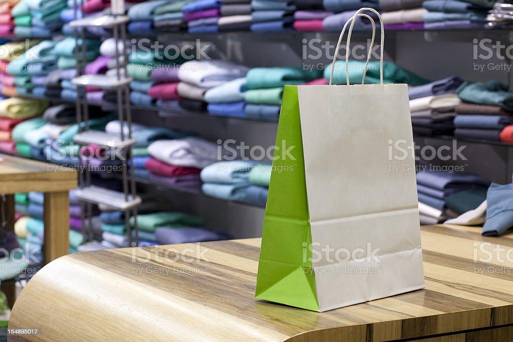 Des boutiques de vêtements. - Photo