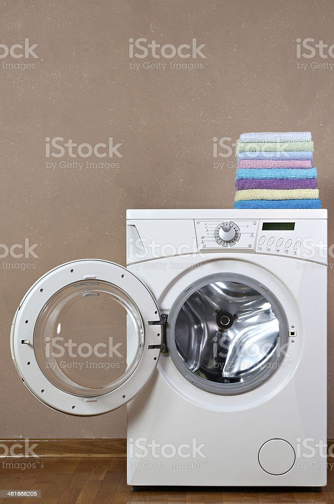 Clothes Washer stock photo