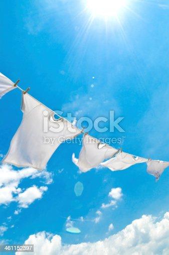 istock clothes-line, 461152397