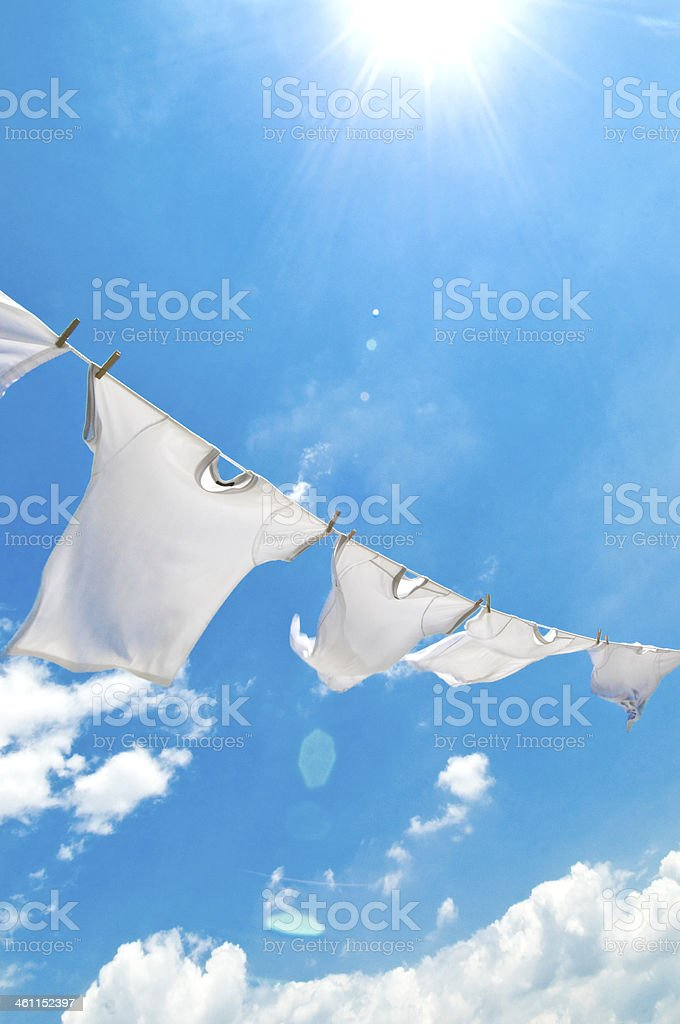 clothes-line, stock photo