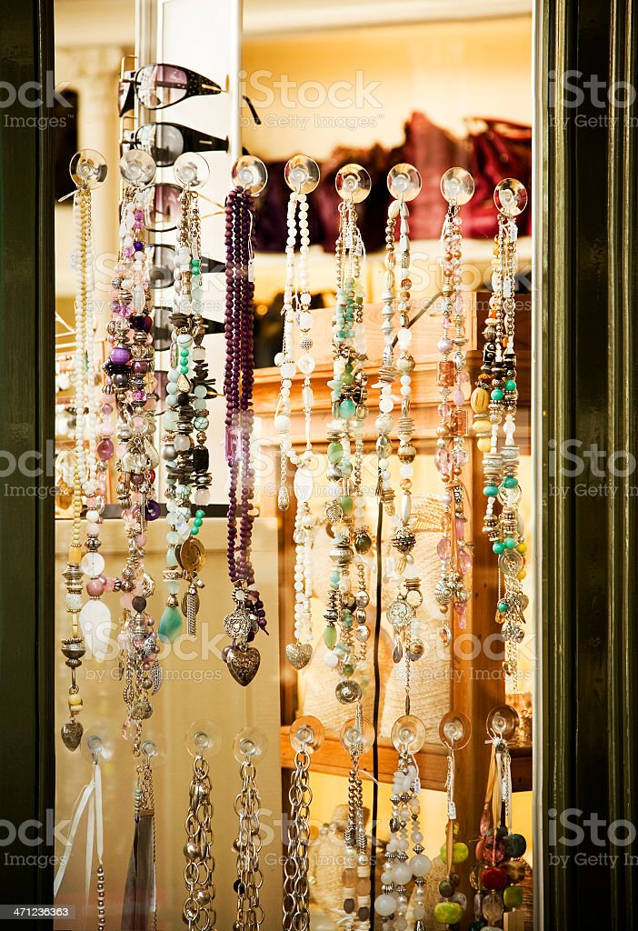 Clothing and accessory Store royalty-free stock photo