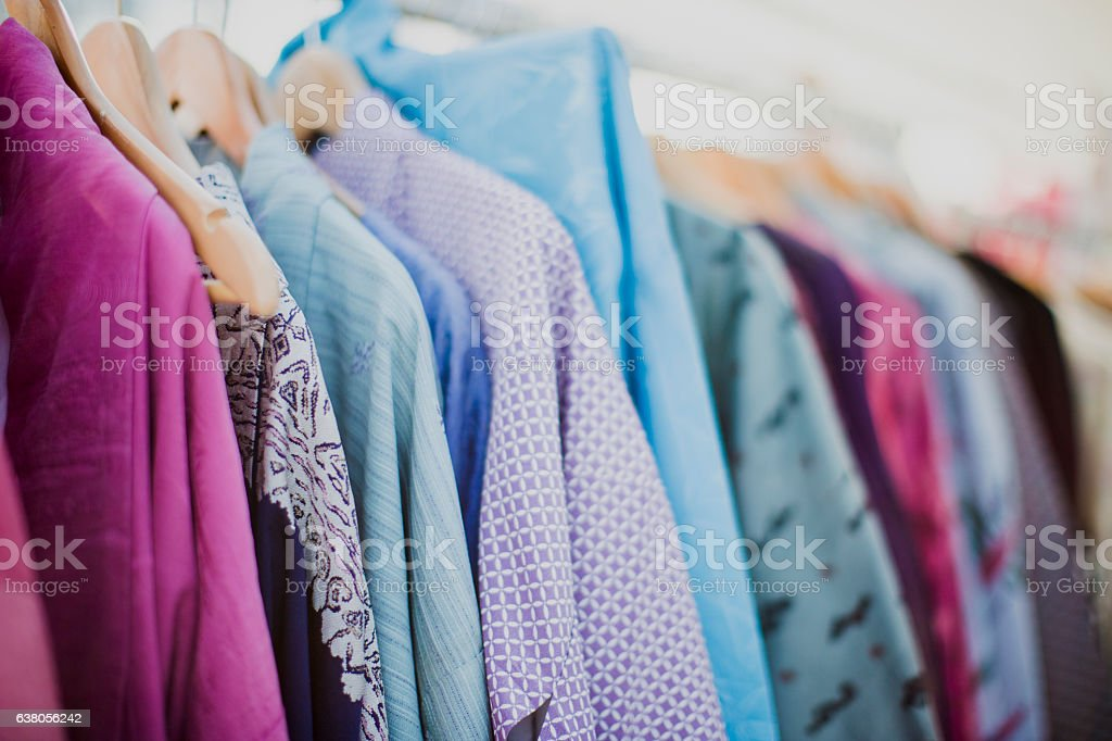 Clothing choice stock photo