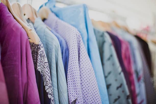 Opción de ropa - foto de stock
