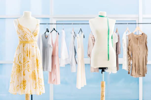 clothing design studio. - barbiekleidung stock-fotos und bilder