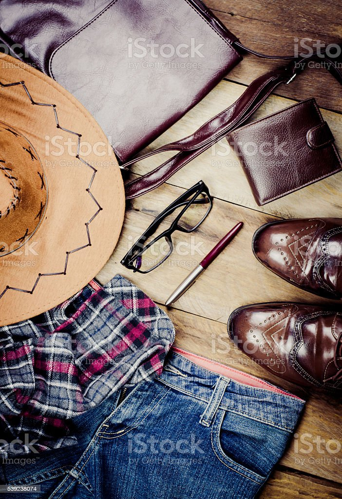 Clothing for men royalty-free stock photo