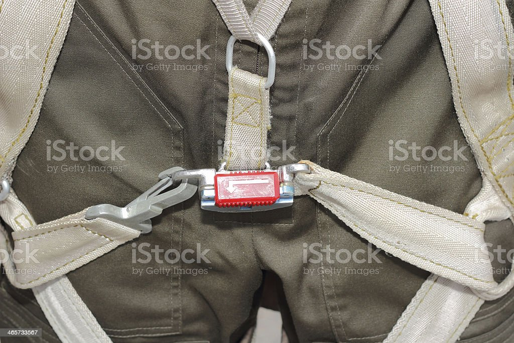 Clothing, harness military pilot stock photo