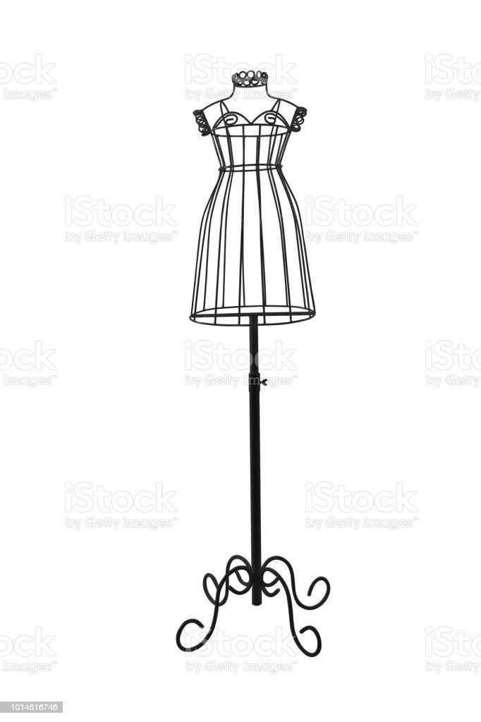 dbf6f75fa Manequim de ferro roupa exibir mulher e menina isolado no branco foto  royalty-free