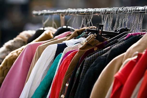 Kleidung Sekundenzeiger. Farbe – Foto