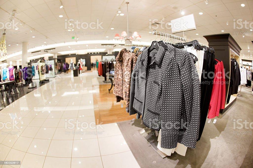 Clothing Shop royalty-free stock photo