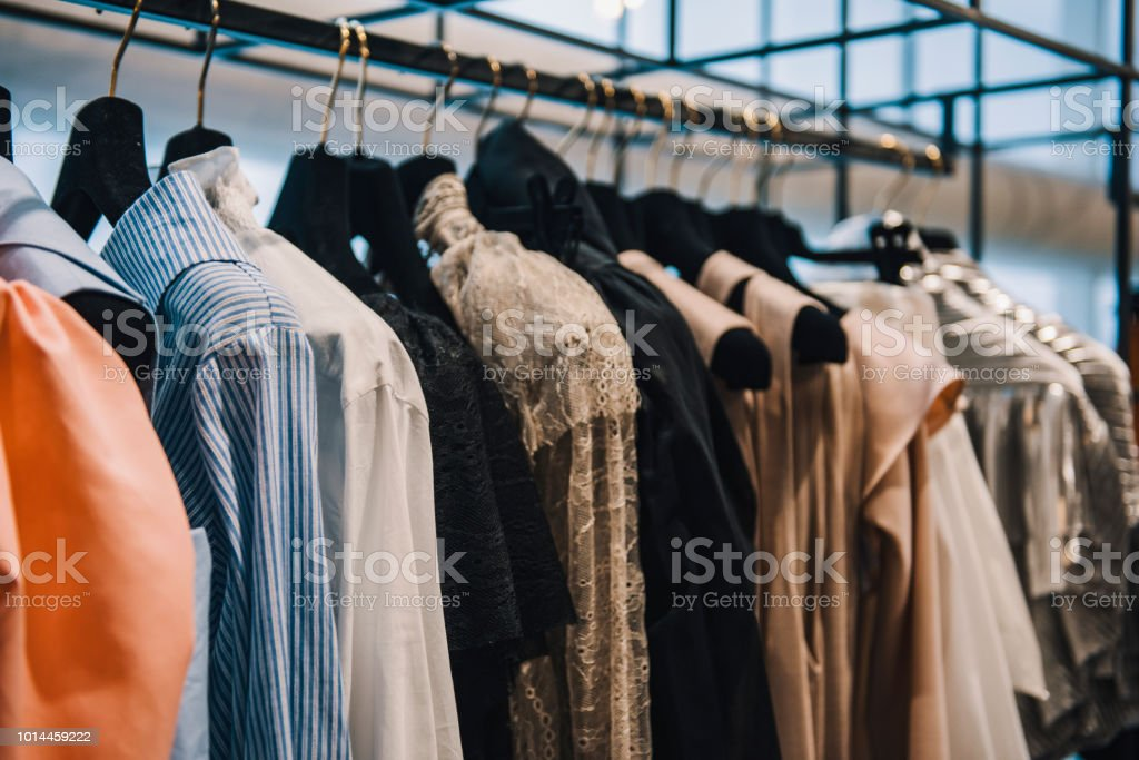 Clothing Store Concept Stock Photo - Download Image Now - iStock