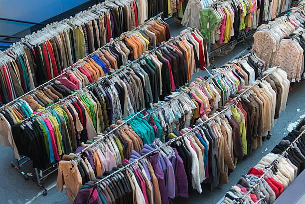 Tienda de ropa - foto de stock