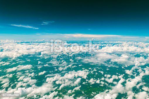 istock Cloud above the land 621363760