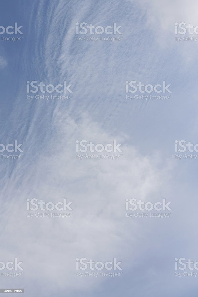 cloud and Blue Sky royalty-free stock photo