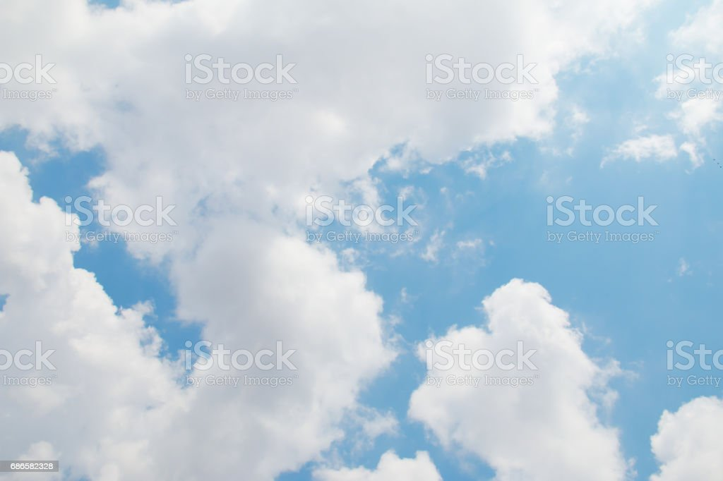 Cloud and blue sky. royalty-free stock photo