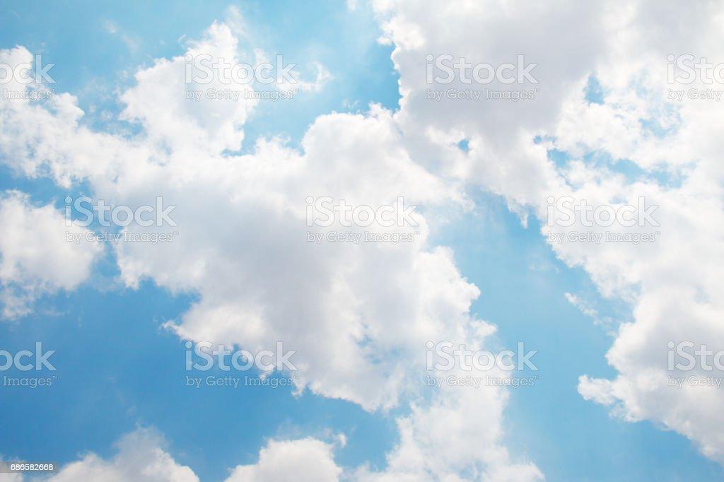 Cloud and blue sky. photo libre de droits