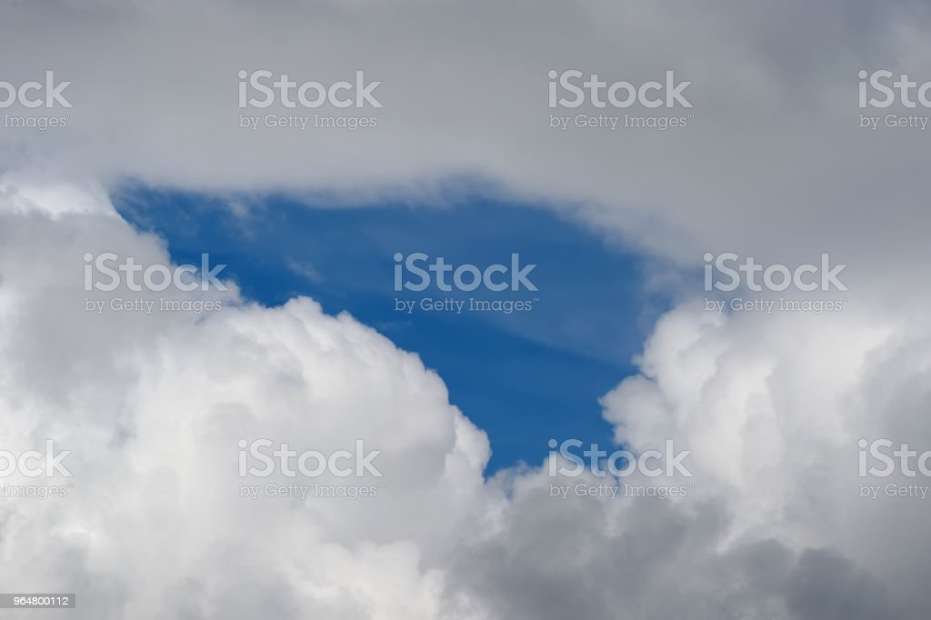 cloud and bluesky royalty-free stock photo