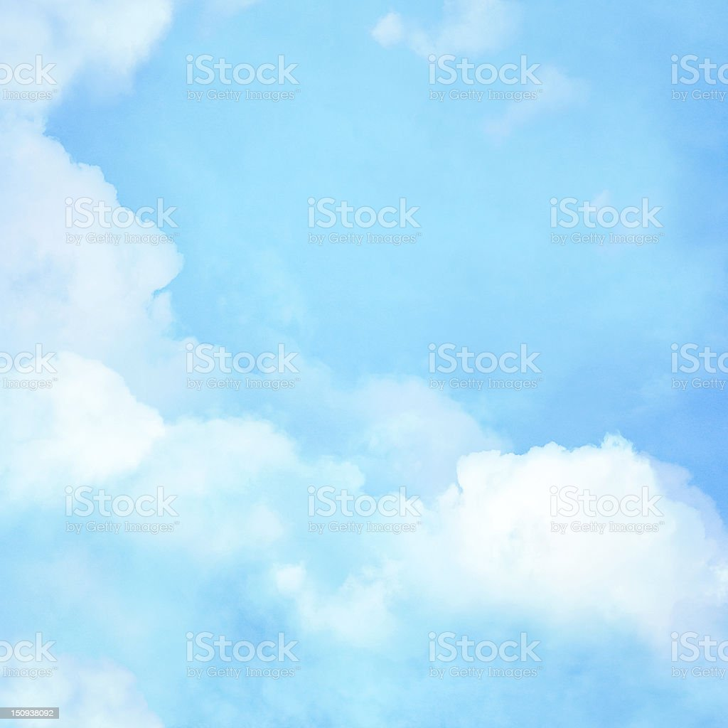 Cloud background stock photo