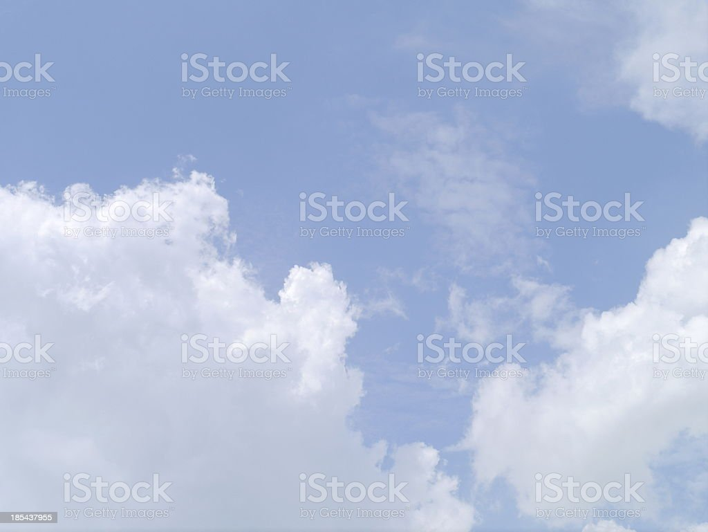 Cloud blue sky . royalty-free stock photo