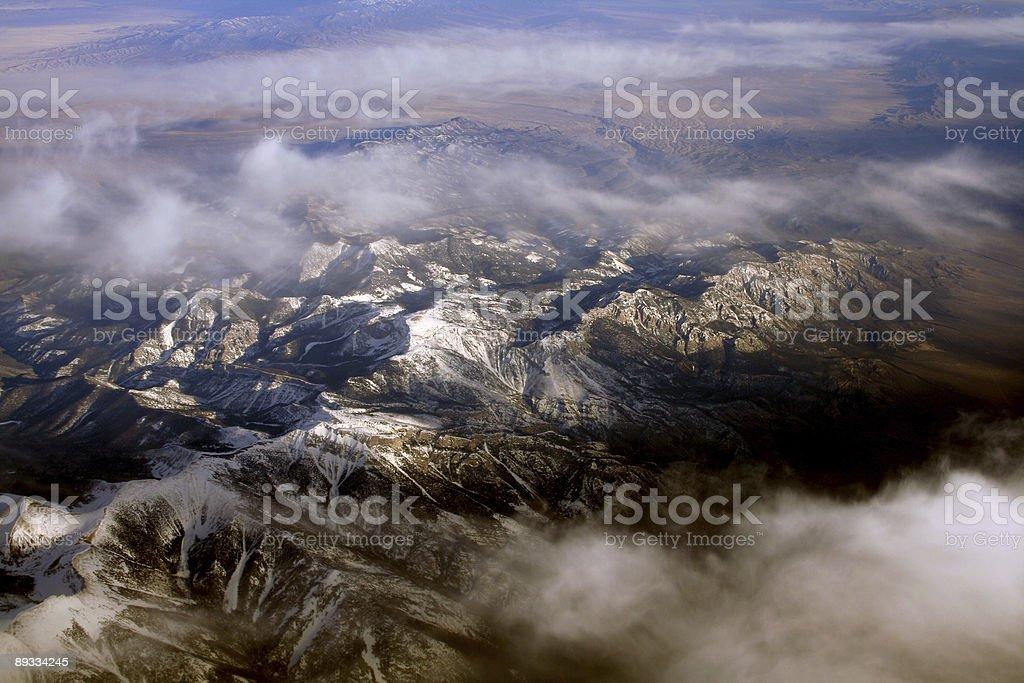 Cloud Breaking stock photo