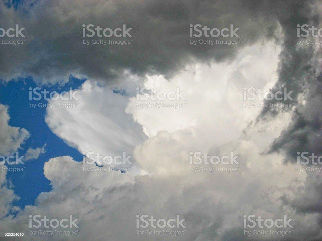 Cloud Burst stock photo
