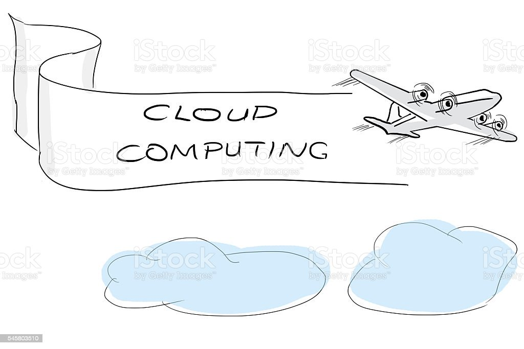Cloud Computing Business Ideas Drawing Stock Photo Istock