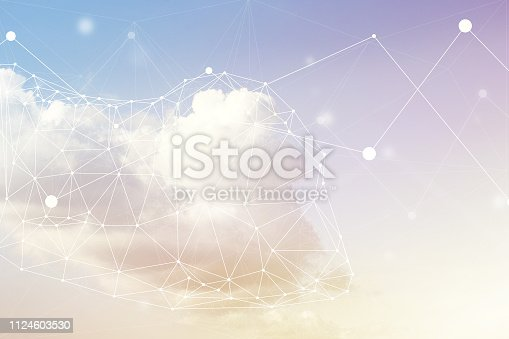 Cloud computing imagery.