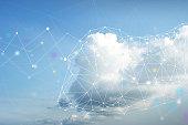 Cloud computing imagery.