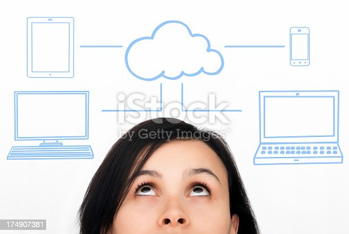 istock Cloud computing concept 174907381