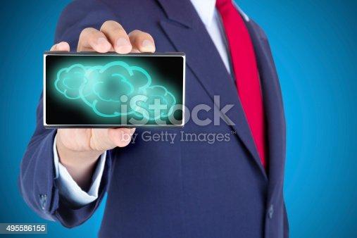477843023 istock photo Cloud Computing concept 495586155