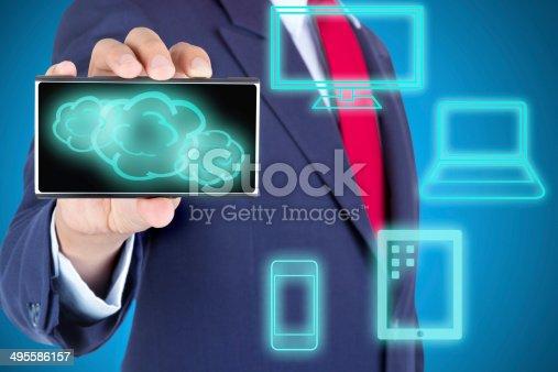 477843023 istock photo Cloud Computing concept 495586157