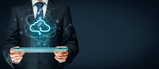 Cloud computing-Konzept  – Foto