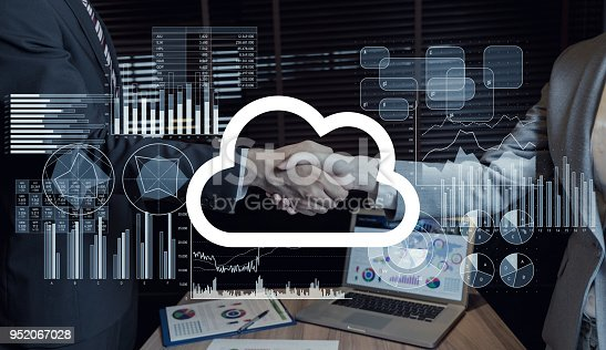 861122560 istock photo Cloud computing concept. 952067028
