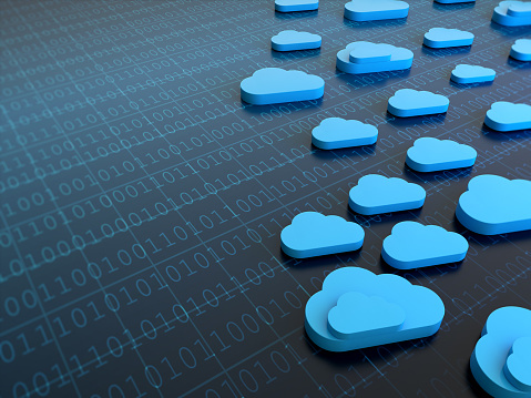 istock Cloud Computing Concept With Binary Codes 1092692586
