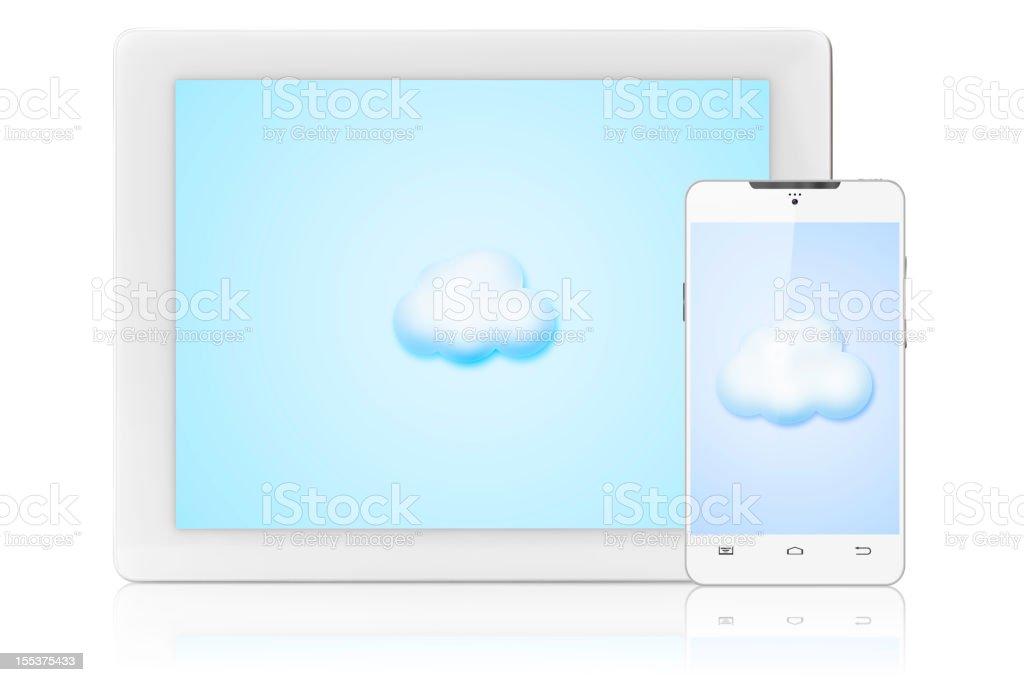cloud computing concepts royalty-free stock photo
