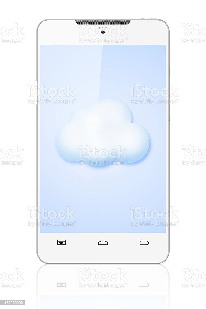 cloud computing concepts stock photo