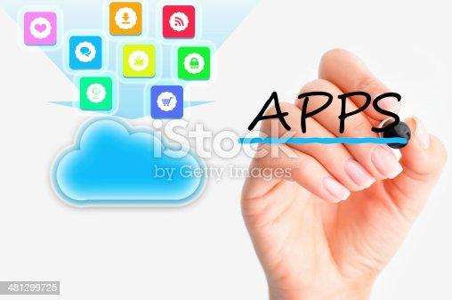 477843023 istock photo Cloud computing file sharing 481299725