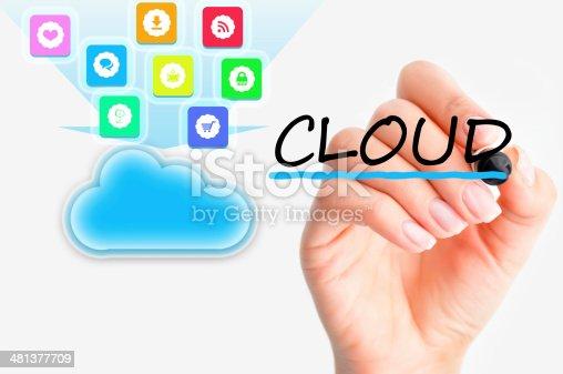 477843023 istock photo Cloud computing file sharing 481377709