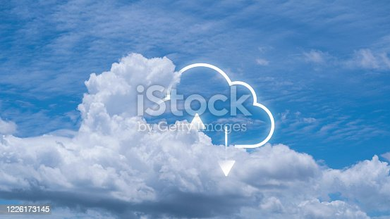 872670490 istock photo Cloud computing is a system for sharing download and upload big data information 1226173145