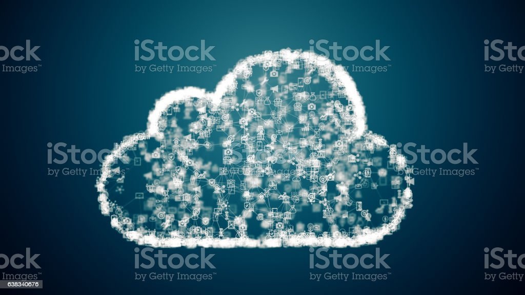 cloud computing network conception – Foto