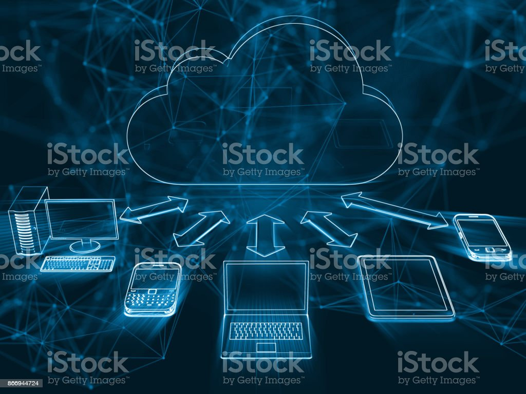 Cloud computing network security technology