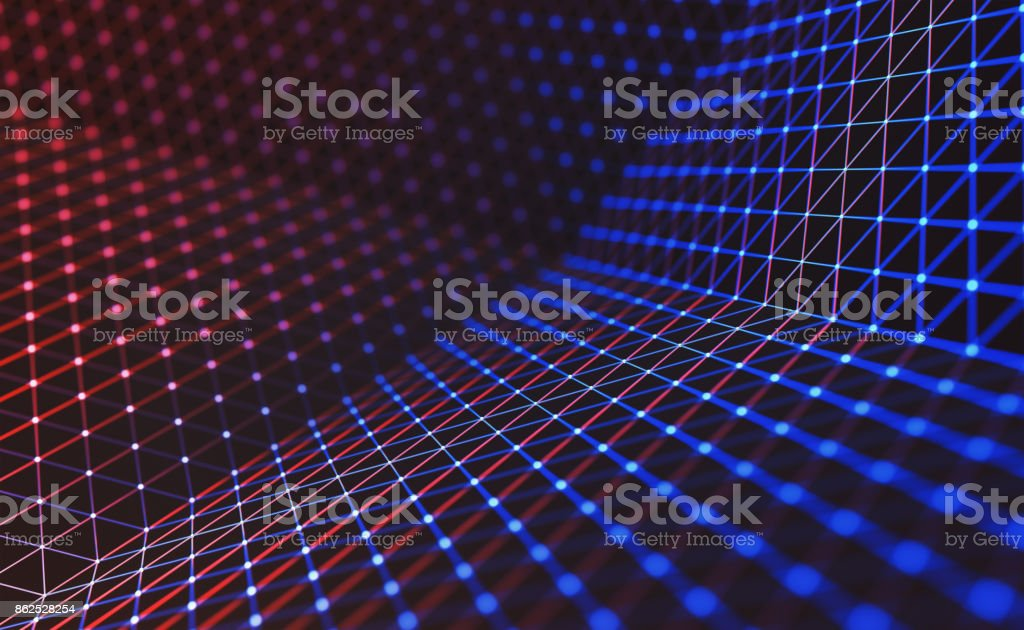 Cloud-Computing / neuronale Netzwerk – Foto