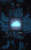 istock Cloud computing 1145589386